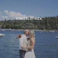 KimberLee + Rick // Lakeside Wedding // Lake Arrowhead, Ca