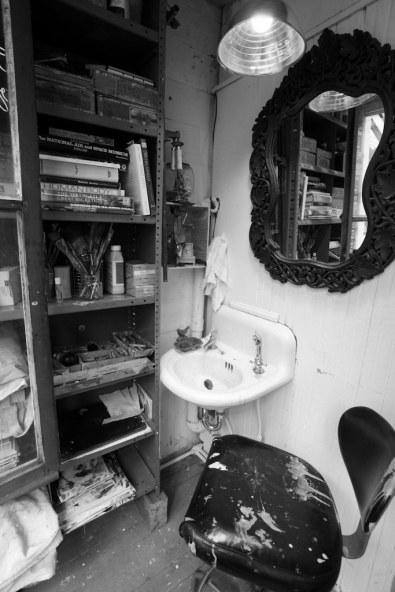 back room sink