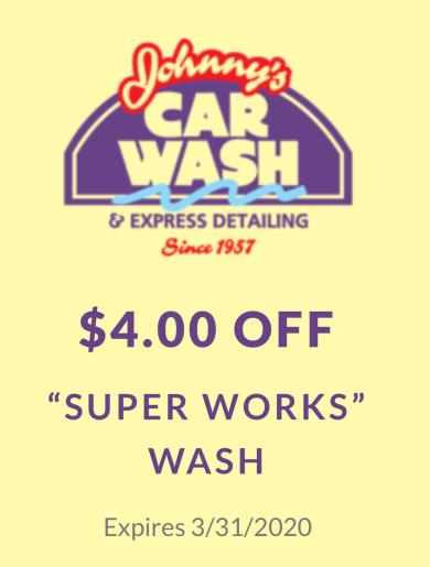 """$4.00 OFF """"Super Works"""" Wash"""