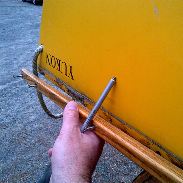 Canoe trim repair