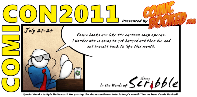 In the Words of Johnny Scribble ComicCon2011 final