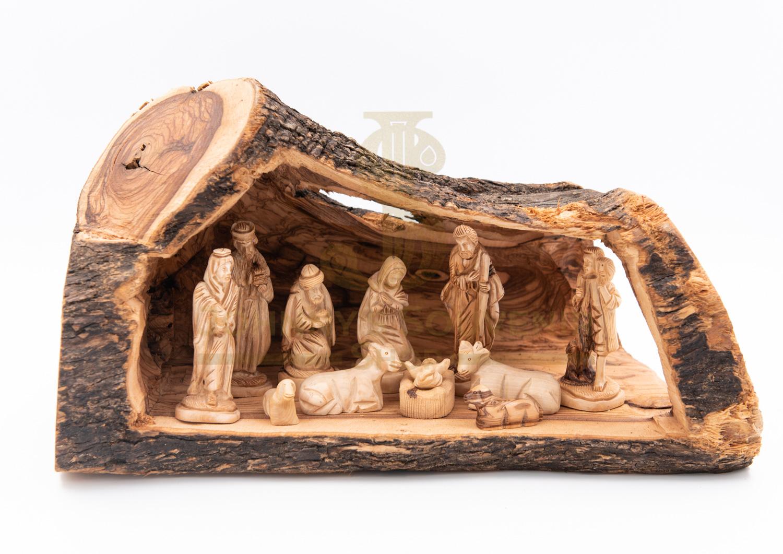 Nativity And Holy Family