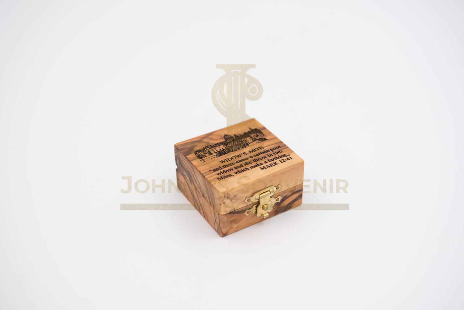 """Box for Widow's Mite """" Coin """""""