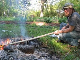 heat treating hickory