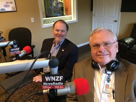 JRP and Bill Tol at WNZF