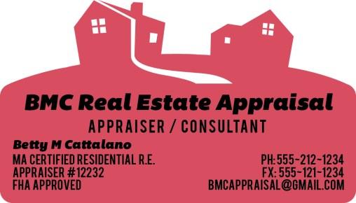Laser-Cut Real Estate Business Card