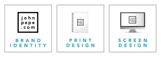 Brand Identity. Print Design. Screen Design.
