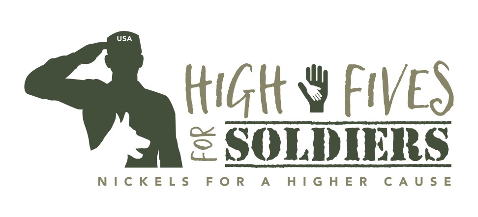 High Fives for Soldiers Logo