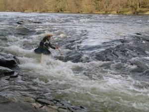 Birch Creek canoe