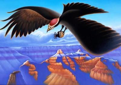 "The Grand Raven Oil 24"" x 36"""