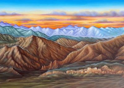 Skyline painting by John Philip