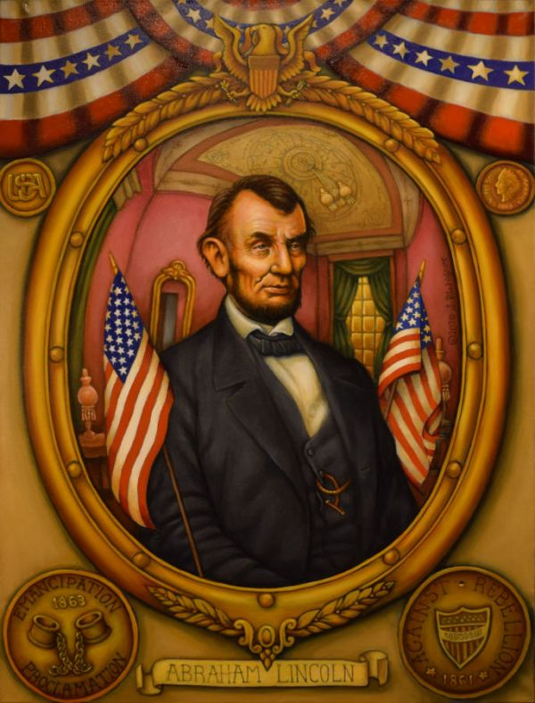 Abraham Lincoln Painting by John Philip Wagner