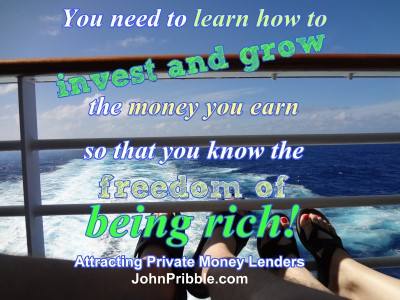 Learn how to invest and grow the money you earn
