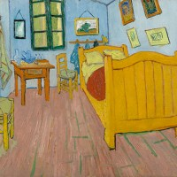 Van Gogh's Bedrooms, The Art Institute of Chicago, February 14 to May 10, 2016.