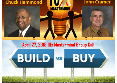 "Episode 23 – ""Should You Build a Business or Buy One?"