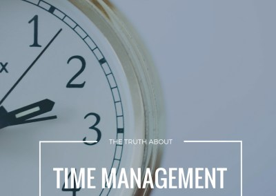 "Episode 85: ""The Truth About Time Management"" Details Comments Link/Embed Edit More"