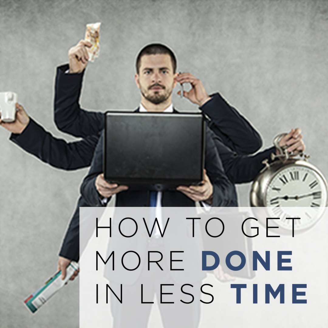 """Episode 74 – """"How to Get More Done in Less Time"""""""