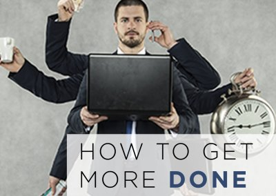 "Episode 74 – ""How to Get More Done in Less Time"""