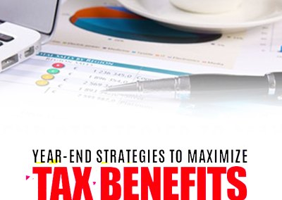 "Episode 94 ""Year-End Strategies to Maximize Tax Benefits"""