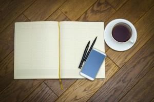 notebook pen money