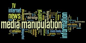 Media manipulation - word cloud
