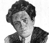 Zinoviev drawing by Yuri Annenkov