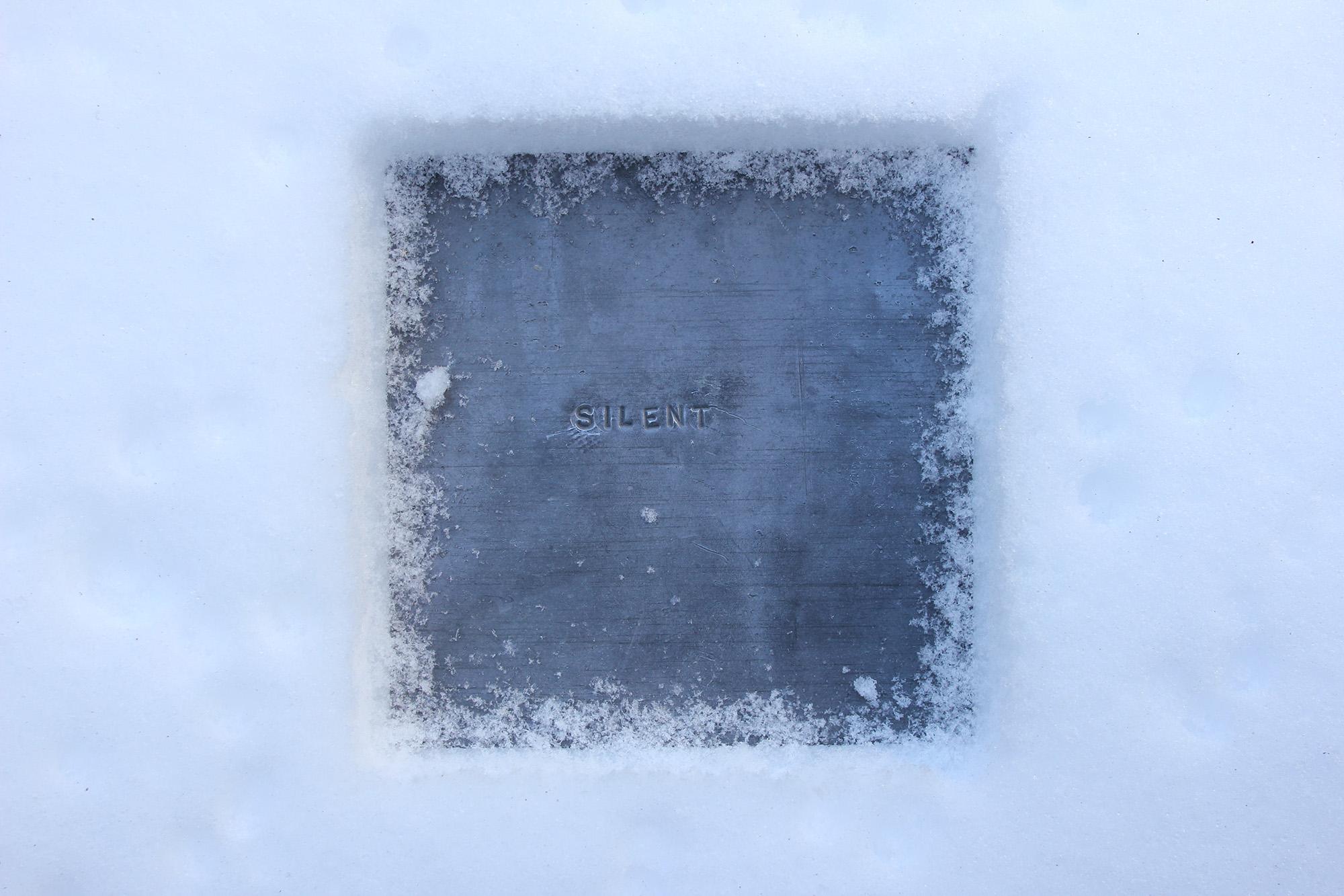 Silent (with Matthew Rohrer) – 5th International Artist Book Exhibition [2013]