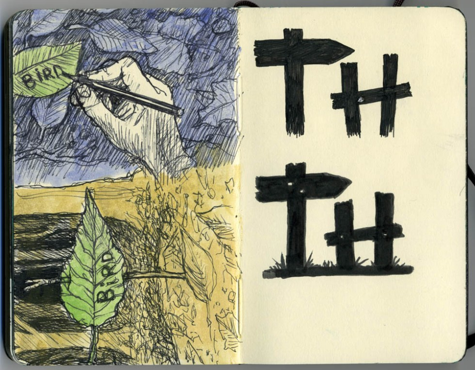 Trailhead – Sketchbook – Leaves