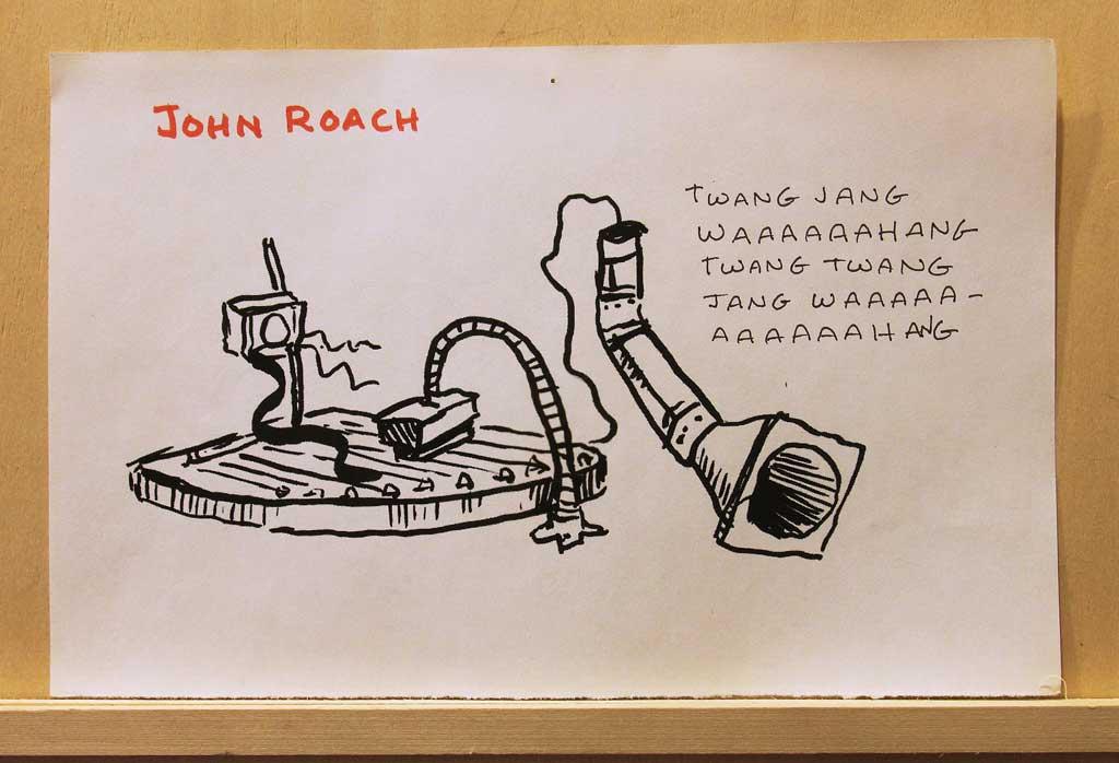 Broadcast Room—roach2
