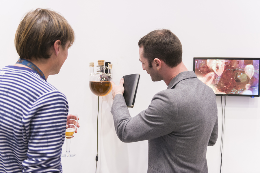 Pearl Flask – Opening At GlazenHuis (2016)