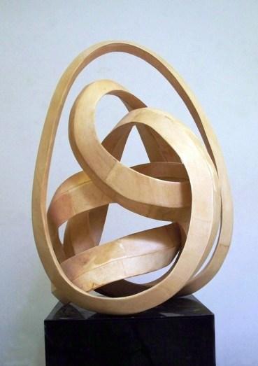 "Natural poplar wood 17""W x 30""H x 17""D Commission for The Burswood Resort Perth, Australia"