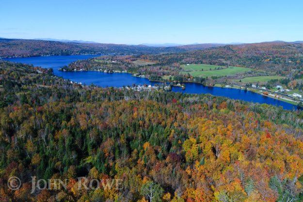 joes pond aerial photograph