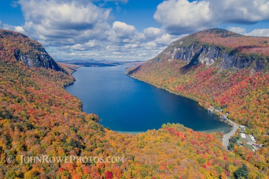Lake Willoughby Fall Foliage Photograph