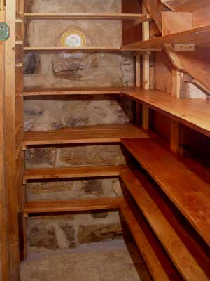 pantry shelf building plans
