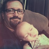 | Day 11 of 366 | Look who fell asleep on me! Baby Keelie! #365project #photoaday #babykeelie