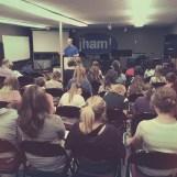 | Day 26 of 366 | Youth group Bible study tonight! Starting a study of 1 John. #365project #photoaday #biblestudy #jham