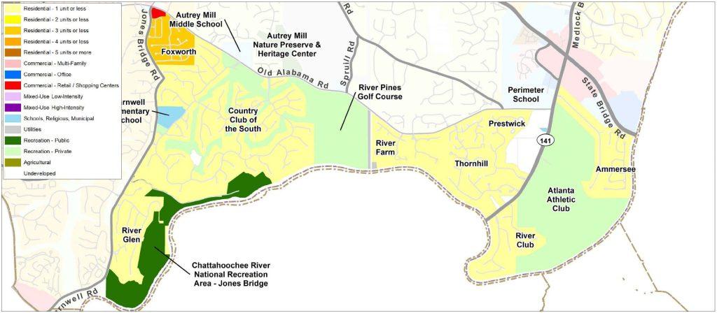 River Estates: Current Land Use Map