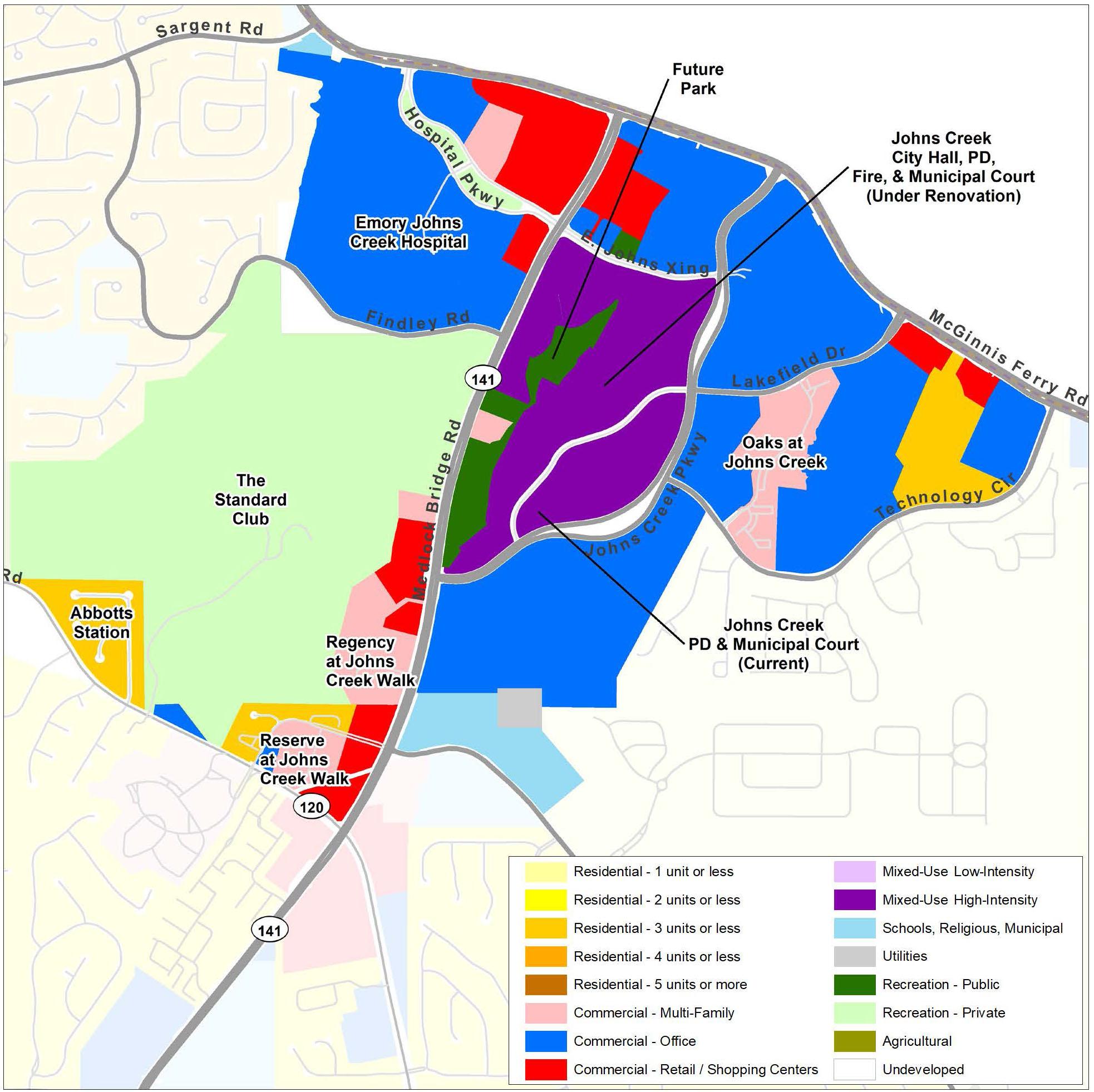 Tech Park: Future Land Use Map