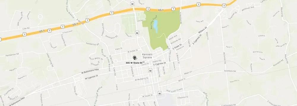 Kennett Square Vacuum Store Map Vacuum Cleaner sales repair service parts bags belts filters