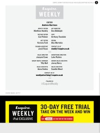 Download Esquire UK App from iTunes: https://itunes.apple.com/us/app/esquire-uk/id461376209?mt=8