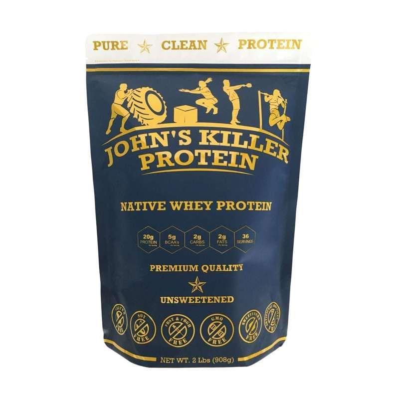 Sugar free grass fed native whey protein