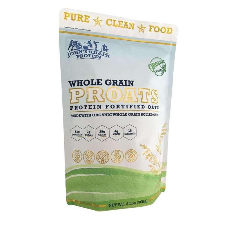 proats high protein organic oatmeal glyphosate free oatmeal