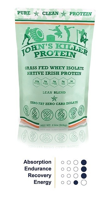 carb free fat free grass fed organic whey protein isolate