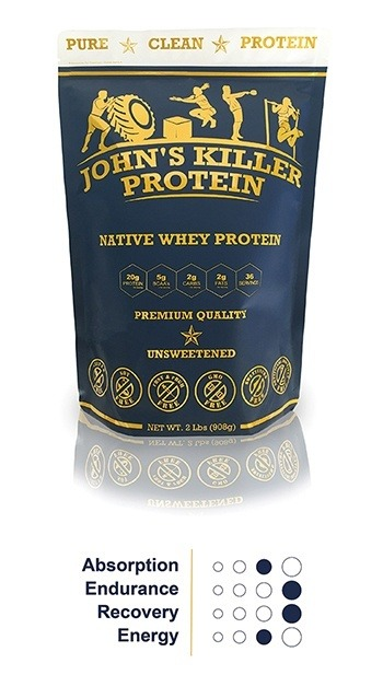 Unsweetened unflavored organic grass fed protein.