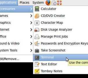 Ubuntu Terminal command window