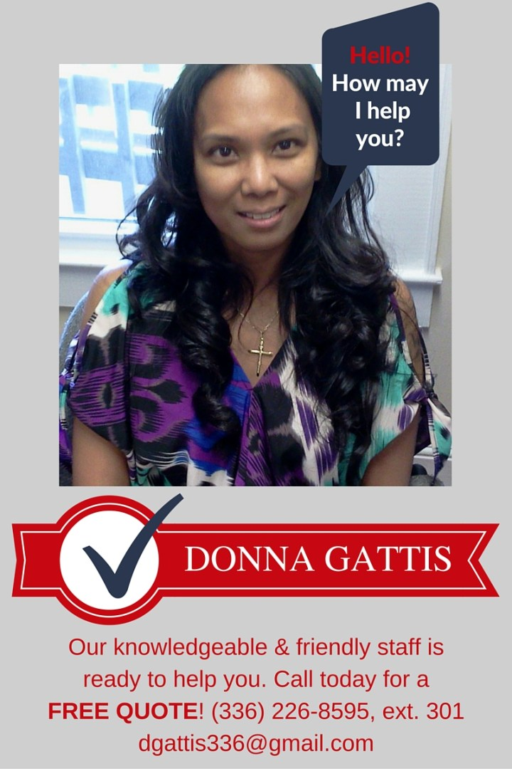 Call Donna for a free quote!