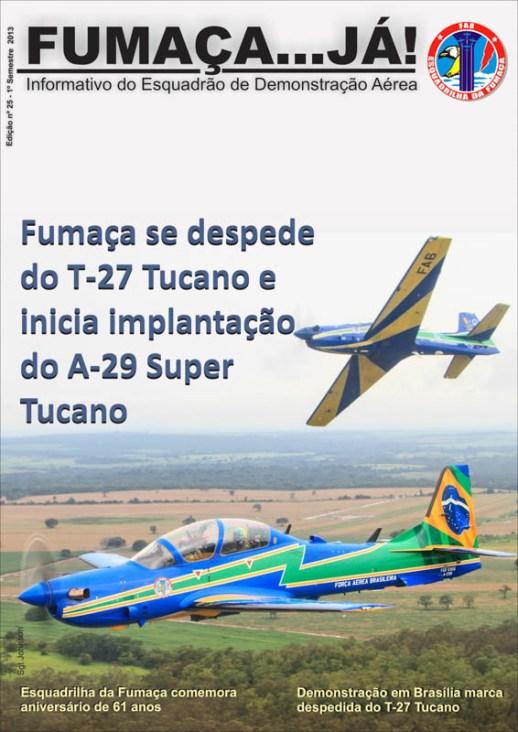 Fumaça Já 25 - Despedida do T-27