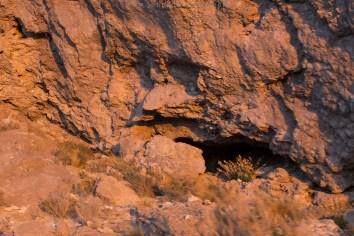Tumbas incas nas encostas