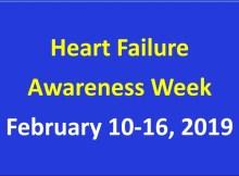 Heart failure awareness week 2019