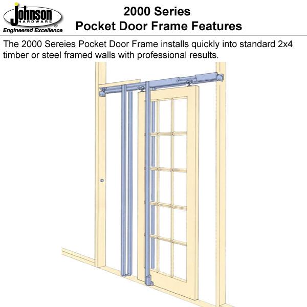 2000 Series Pocket Door Frame Johnsonhardware Com